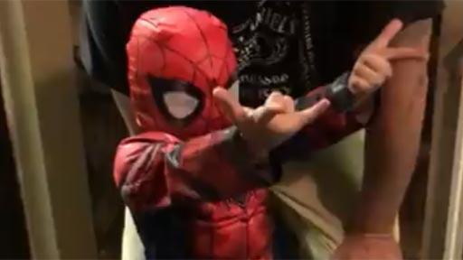 Mi hijo es Spider-Man