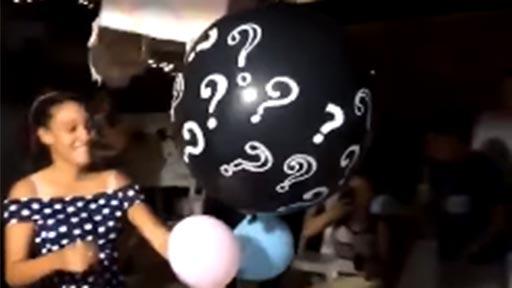 Globo sorpresa niño o niña