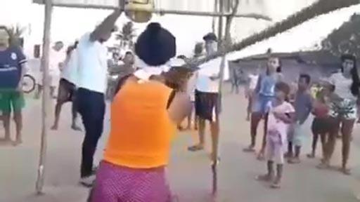 Conozcamos al increíble niño piñata