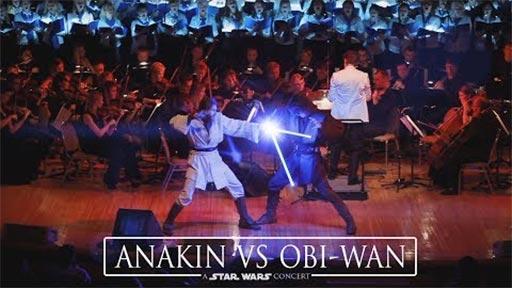 Anakin vs Obi-Wan