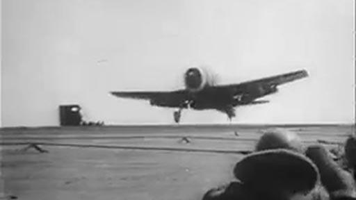 Incidente aterrizando en el portaaviones
