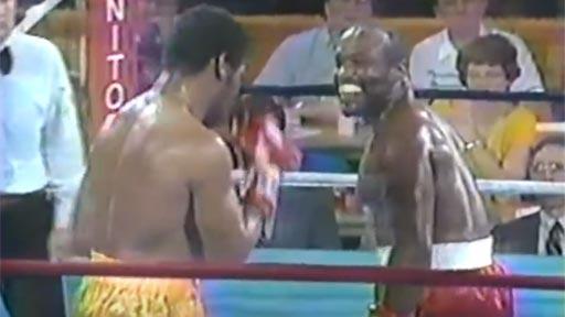 Un boxeador vacilón