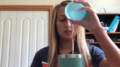 Magia con un vaso de agua