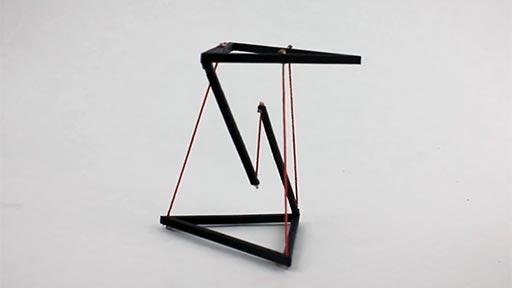 Cuerdas levitantes