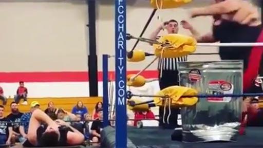 Combate de wrestling