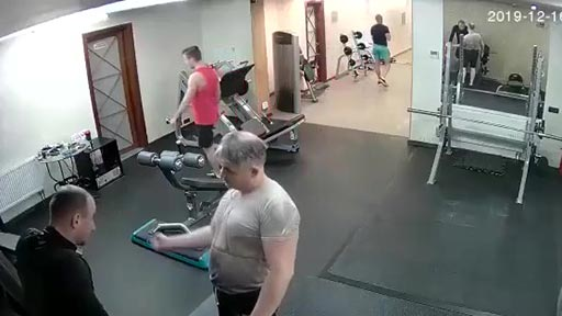 Sucedió el lunes en el Gym